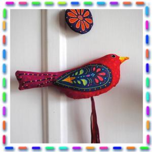 Sewing kit Pearl bird