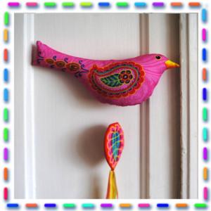 Kit couture L'oiseau  Brodé