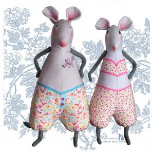 Kit couture 2 souris des bois