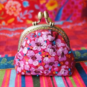 Sewing kit Velvet coin purse Seringa