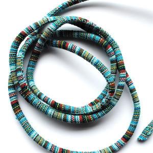 Cordon textile multicolore 1.50 m