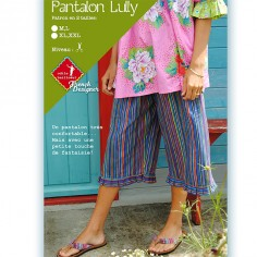 Patrons couture : Pantalon LULLY