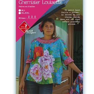 Patrons couture : Blouse LOUISETTE