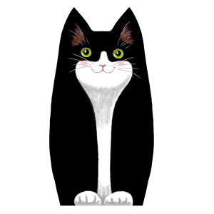 Sewing kit : velvet kitten Filou