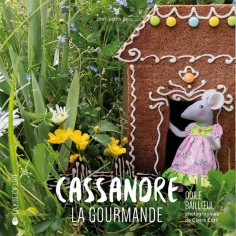 "Book ""Cassandre la gourmande"" (Cassandre the gourmand )"