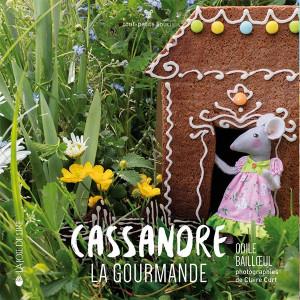 "Book ""Cassandre la gourmande"" (Cassandre the gourmand )"