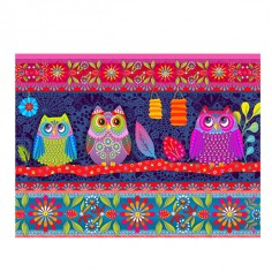 Velvet kit : Tablet case Owls