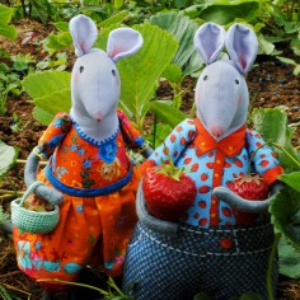 Kit couture 2 souris du potager