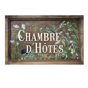 "Garden sign ""Chambre d'hôtes"""