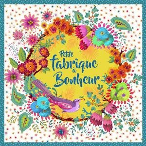 """Plaque """"Fabrique à bonheur"""""""