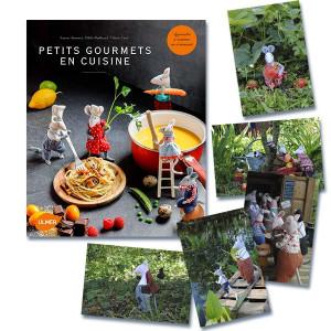 Livre de souris : Petits gourmets en cuisine