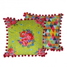 Cushion 40x40cm Passiflore