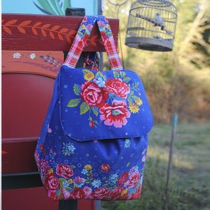 Sewing kit backpack Jardin anglais