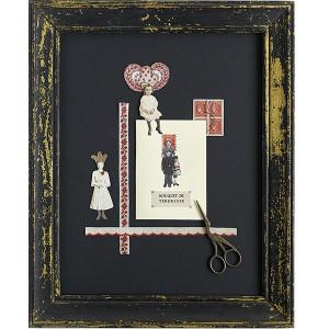 Page de timbres et galons Isabelle Schwartz