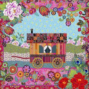 Velvet card Gipsy caravan