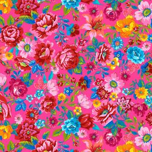 Velours souple Parfum d'été rose