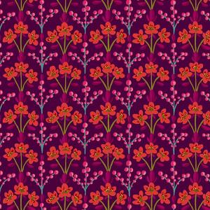 Velvet :Parterre plum