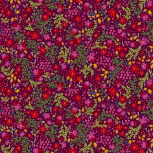Velours souple Canopée prune