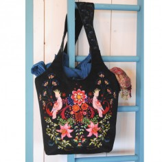 Sewing kit bag : enchanted aviary black