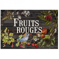 "Garden sign ""Fruits rouges"""