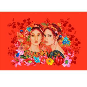 Velvet card 2 Sisters