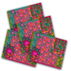 2 Table Mats Arabesques