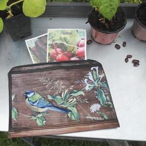 Garden pouch Mesange