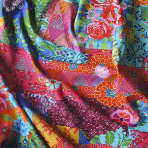 Jersey de coton Patch Diva