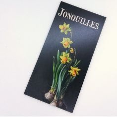 "Garden sign ""Jonquilles"""