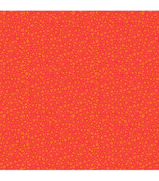 Cotton Fabric Goa Orange