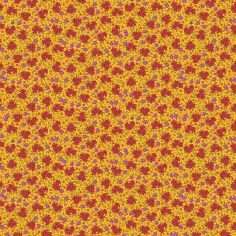 Cotton Fabric Delhi Yellow