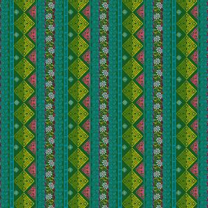 Coupon coton Seville Vert