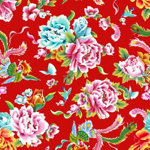 Velvet Shanghai Red