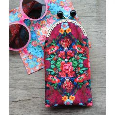 Sewing kit : velvet glasses case Istambul