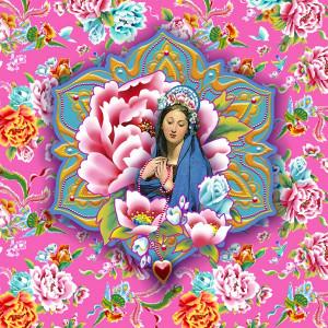 Ex-Voto Vierge de Shanghai rose clair