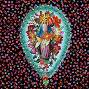 Ex Voto Virgin of flowers