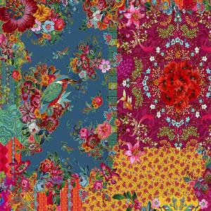 Jersey de coton République des Fleurs