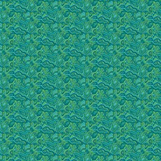 Cotton jersey Malabar turquoise green