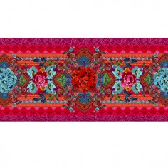 Red Simply table runner