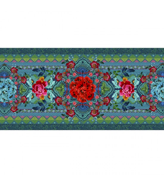 Istanbul table runner pink