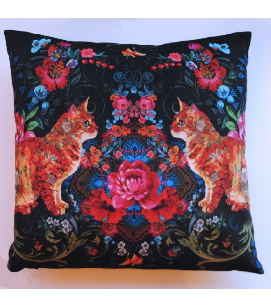 Cushion 45 x 45 Paros black