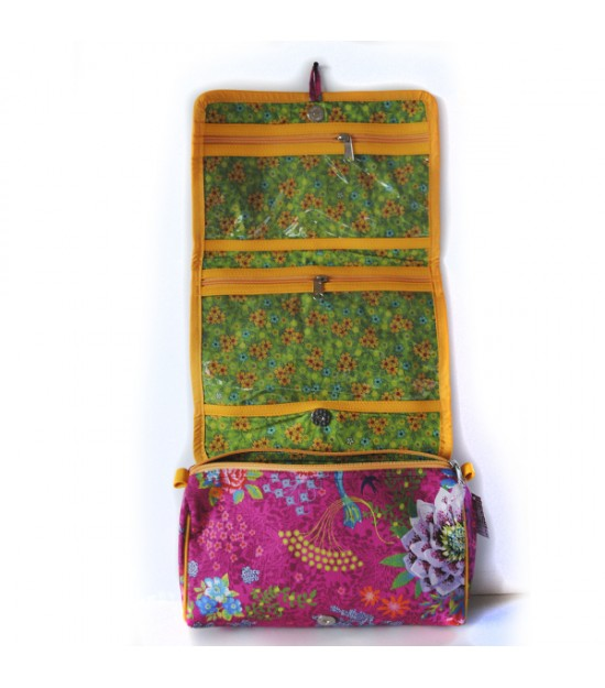 Toiletry bag enchanted pond