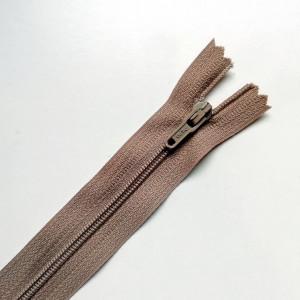 Fermeture à glissière Marron Clair 16cm
