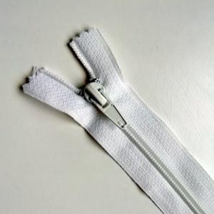 Fermeture à glissière Blanche 16cm