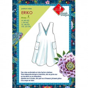 Patrons couture : robe Eriko