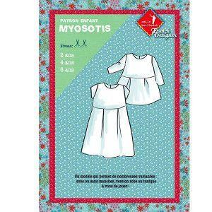 Sewing patterns child: MYOSOTIS