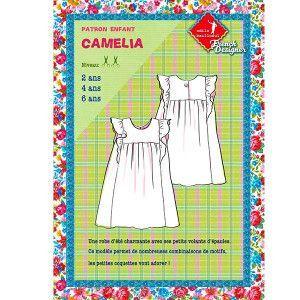Patrons couture enfant : CAMELIA