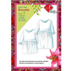 Patrons couture : Blouse ROSALIE