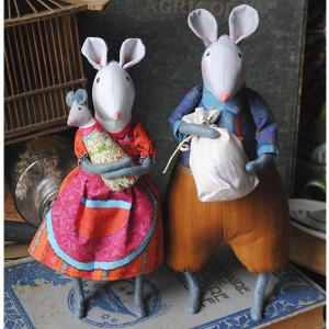 Kit couture les souris du grenier