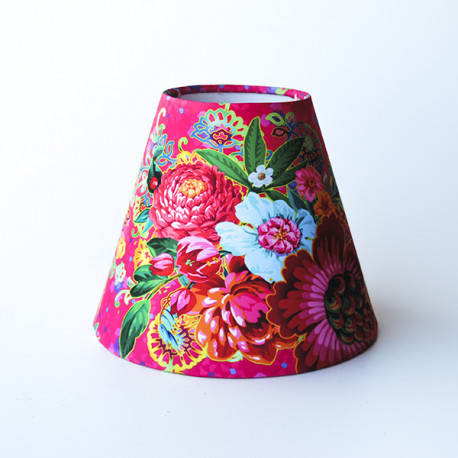 Cone-shaped lampshade Republic of Flowers